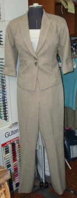 Custom Linen Jacket & Pants