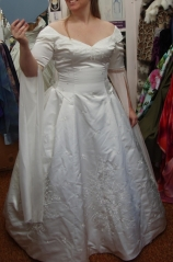 Sleeves Designed for Wedding Gown