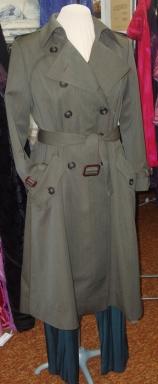 Custom Wool Gabardine Trench Coat