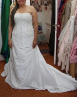 Wedding Gown Altered