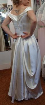Updated Vintage Wedding Gown